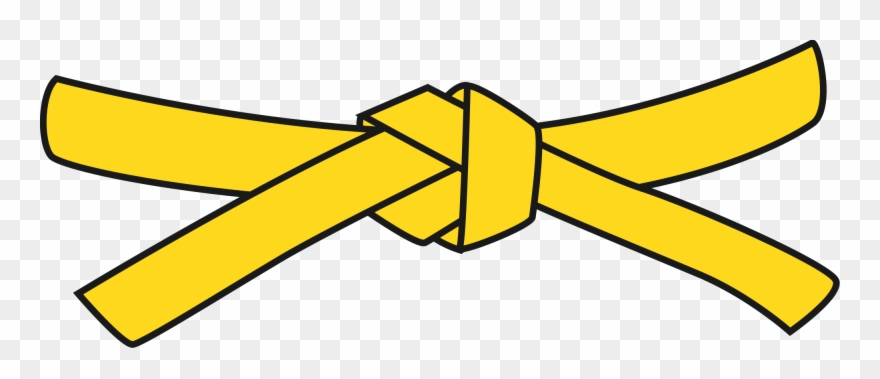 Black path yellow pinclipart. Belt clipart clip art