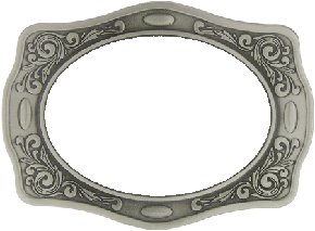 Western buckle borders c. Belt clipart cowboy belt