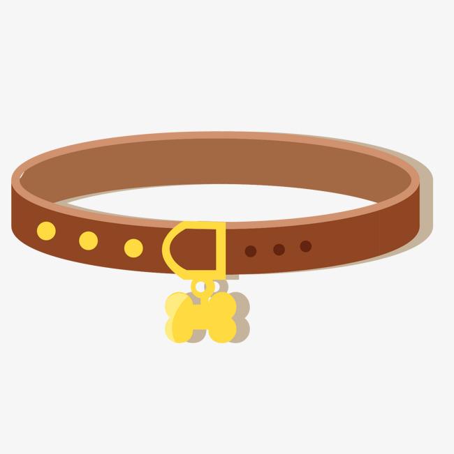 Belt clipart dog. Cartoon necklace gray png