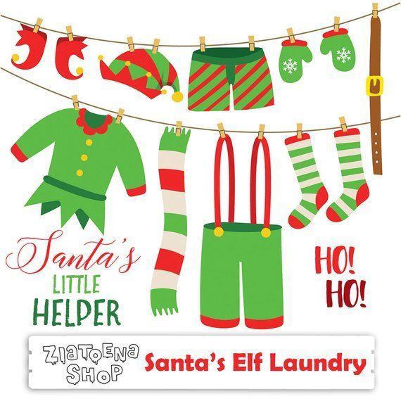 Image holiday elf clothes. Elves clipart socks
