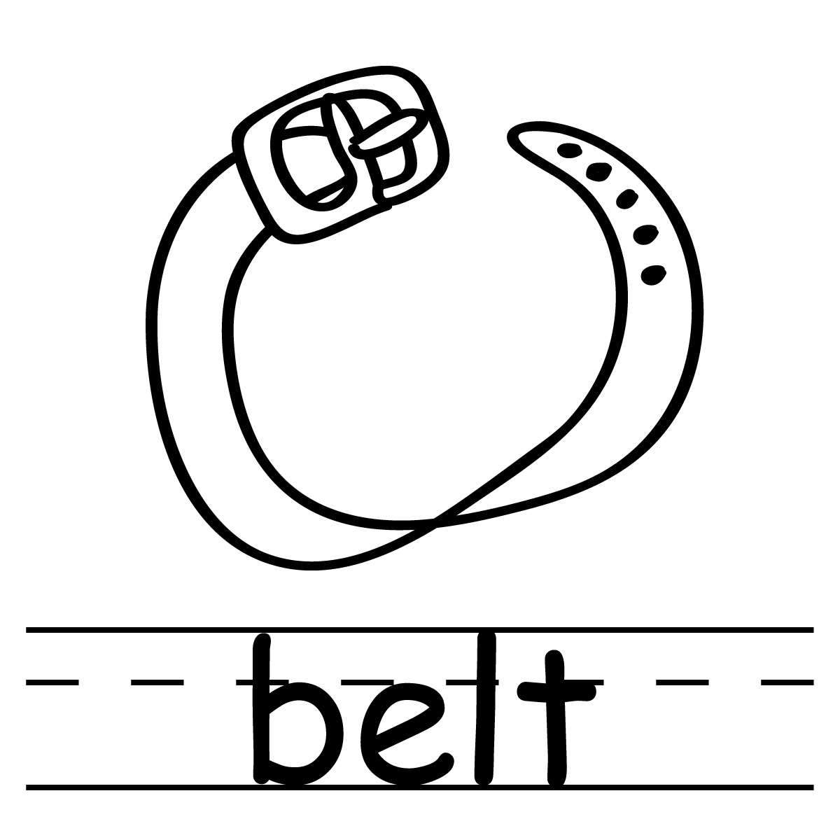 Belt clipart illustration. Free white cliparts download