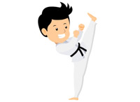 Sports free to download. Belt clipart karate