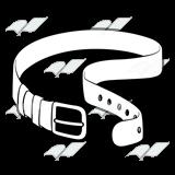 Belt clipart long belt. Abeka clip art black