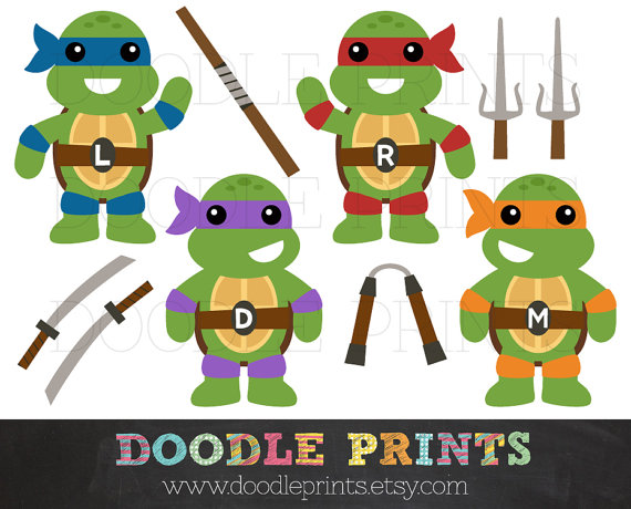 Items similar to tmnt. Belt clipart ninja turtle
