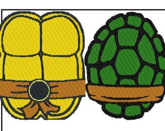 Shell template free costumes. Belt clipart ninja turtle