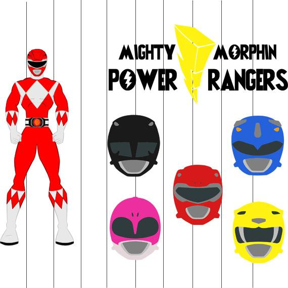 Belt clipart power ranger. Rangers svg png eps