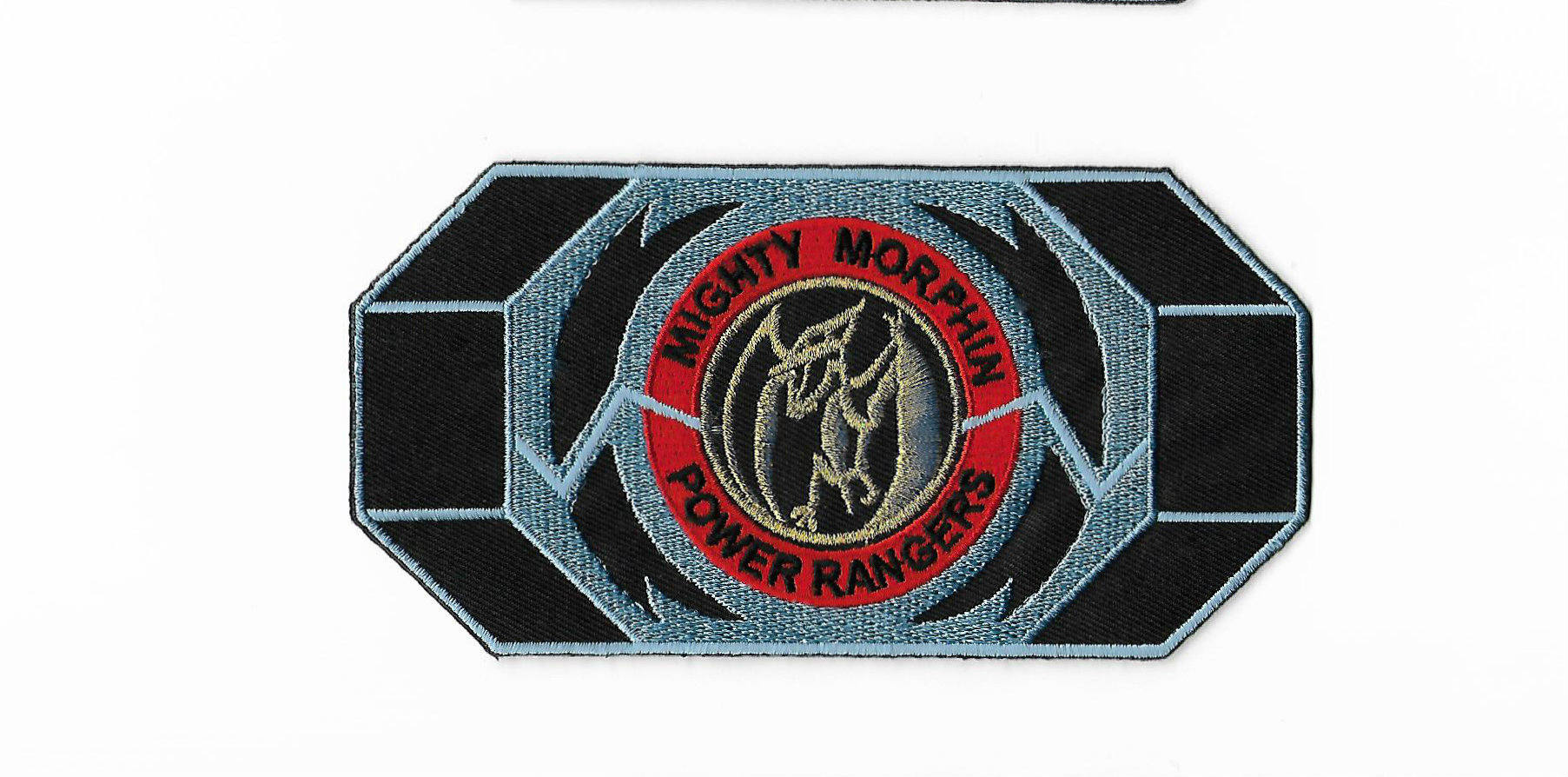 Pink morpher patch embroidered. Belt clipart power ranger