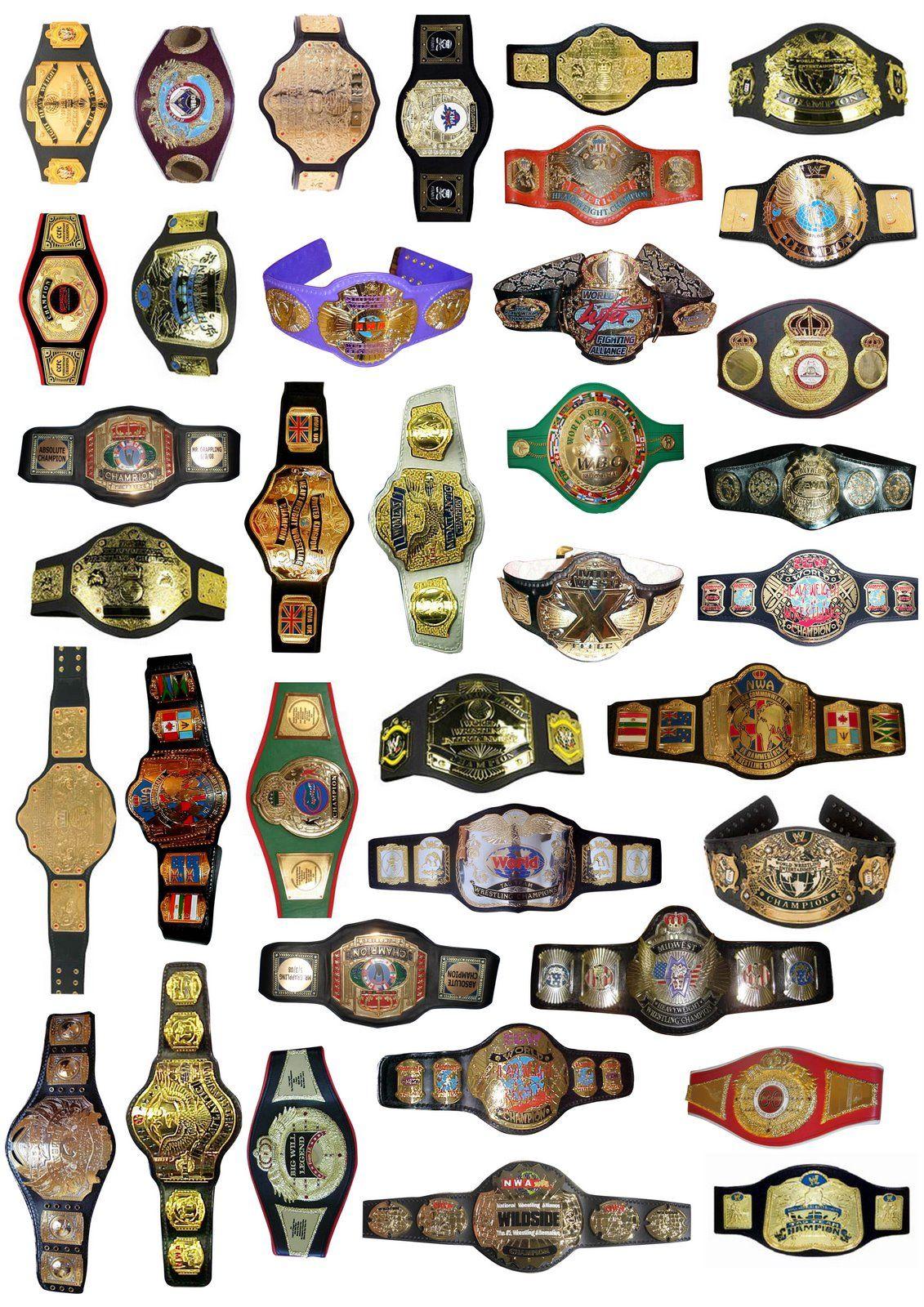 Title belts prowrestling are. Belt clipart pro wrestling