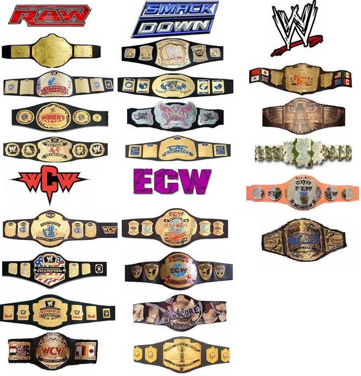 Belt clipart pro wrestling.  best championships images