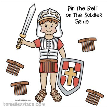 Pin the on game. Belt clipart soldier roman