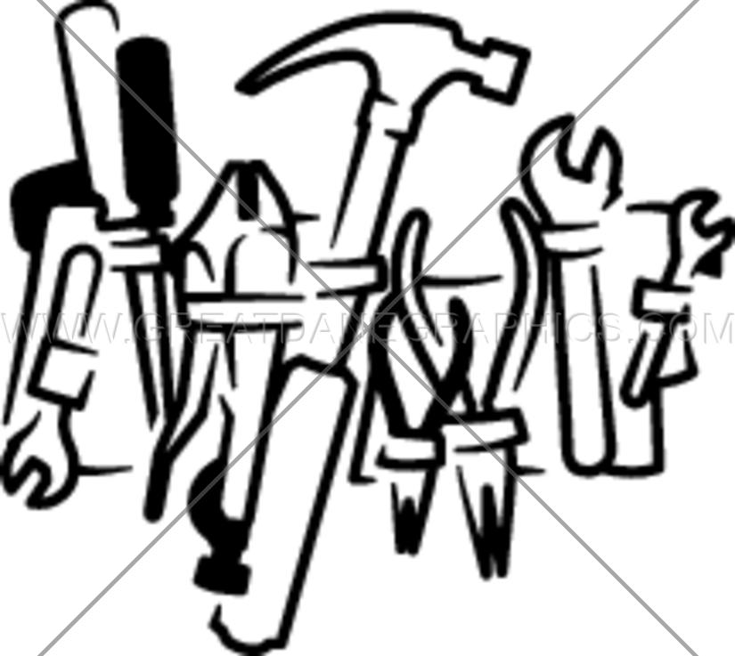 Belt clipart tool. Handy production ready artwork