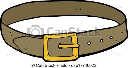 Cartoon leather panda free. Belt clipart vector