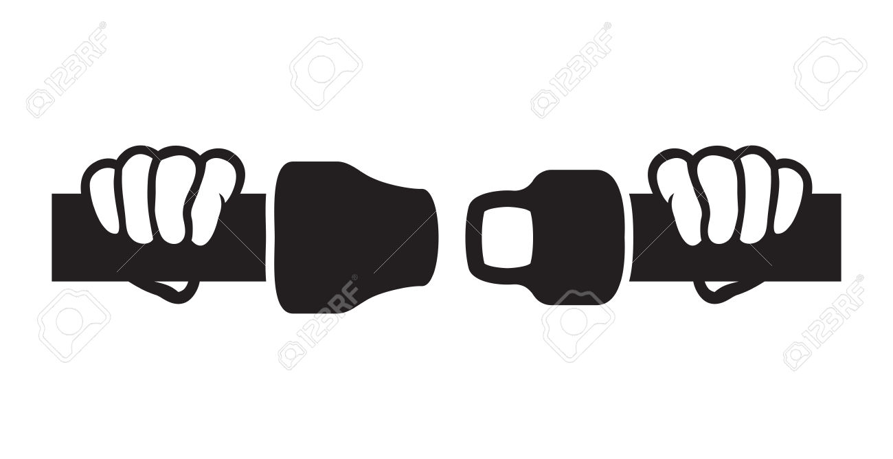 Airplane seatbelt pencil and. Belt clipart vector