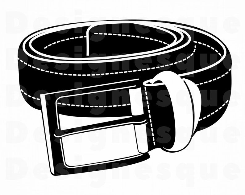 Svg clothing files for. Belt clipart vector