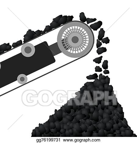 Belt clipart vector. Clip art conveyor with