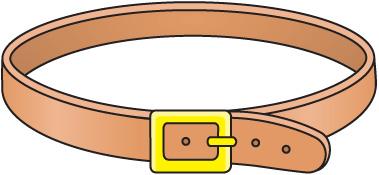 Clipground. Belt clipart