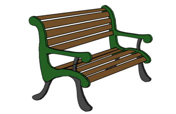 Bench clipart. Free cliparts download clip