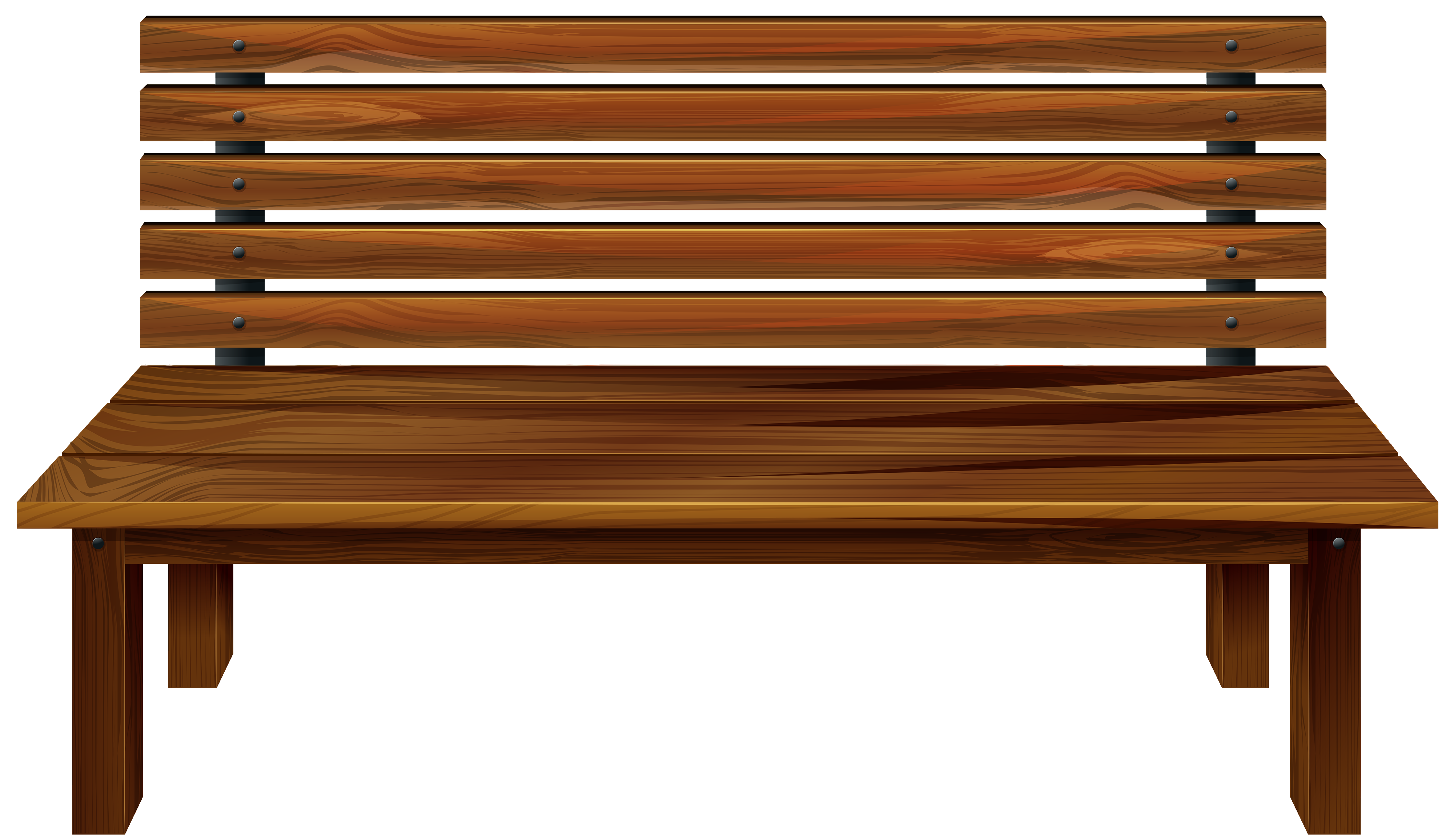 Bench clipart. Wooden png best web