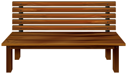 Bench clipart banch. Wooden png best web