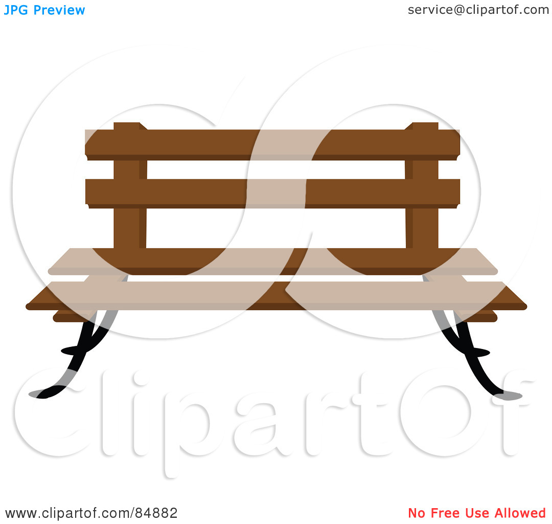 Park silhouette at getdrawings. Bench clipart banch
