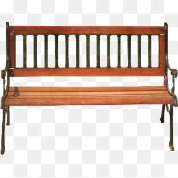 Park png vectors psd. Bench clipart banch
