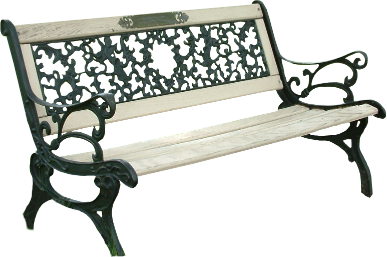 Park bench by thy. Png files for photoshop