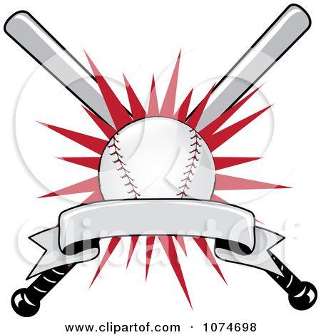 Batter hitting a ball. Bench clipart baseball