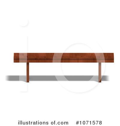 Illustration by ralf royaltyfree. Bench clipart baseball
