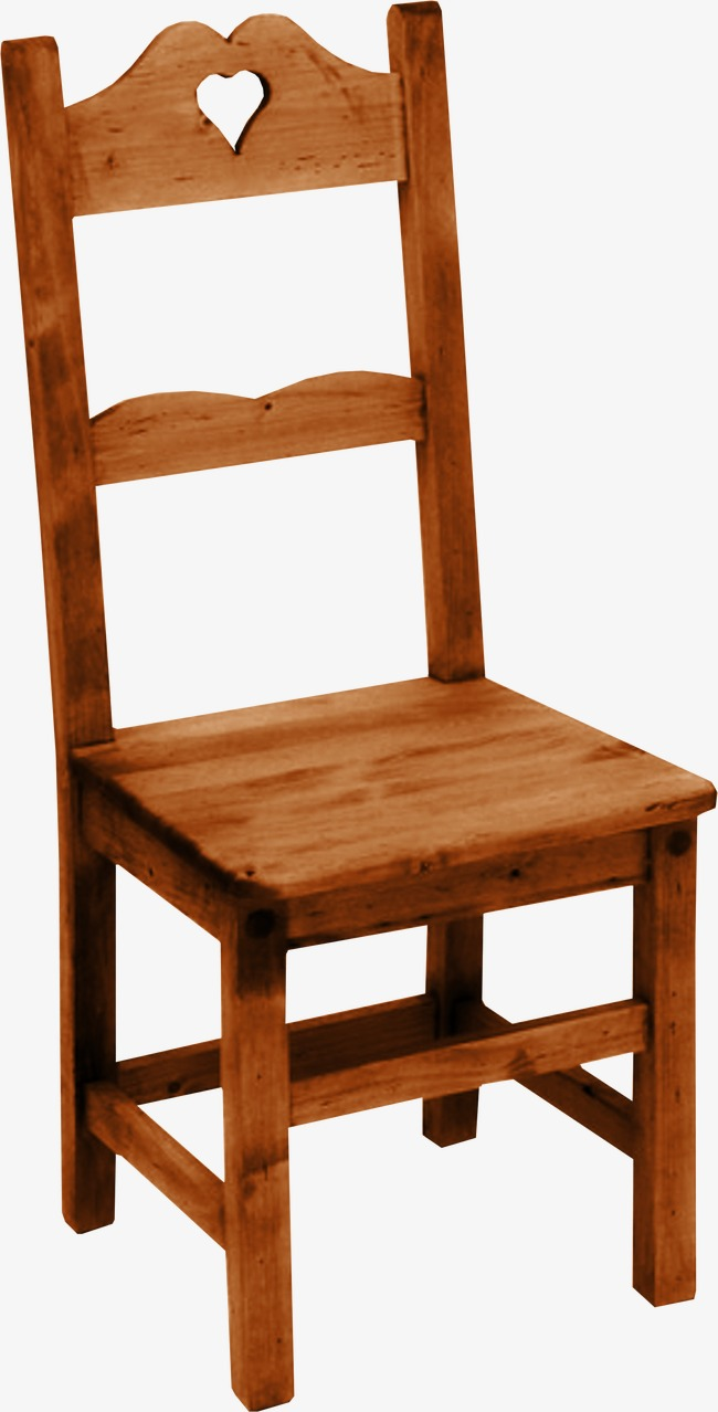 Bench clipart brown wooden. Chair small png image