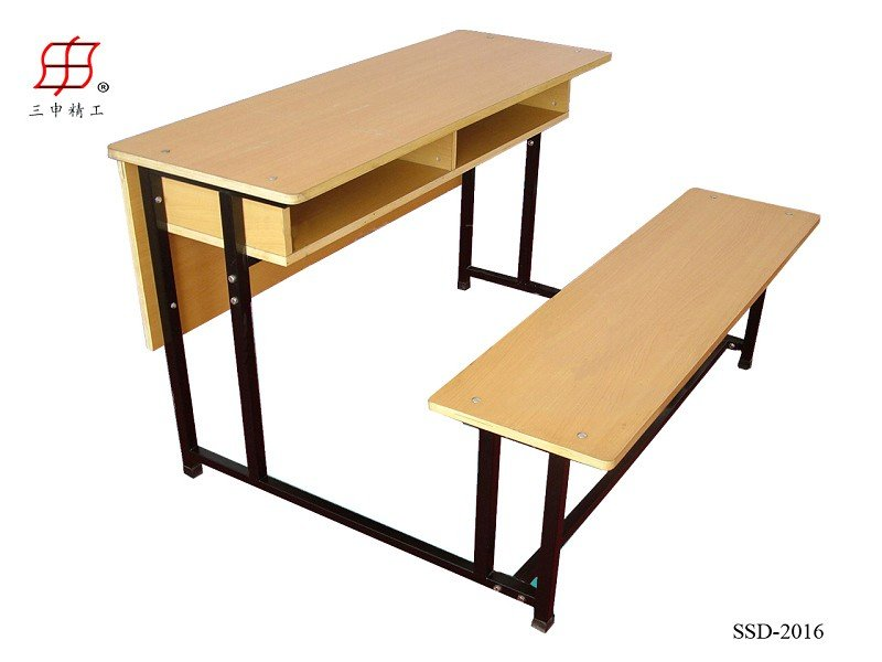 Classroom furniture students wooden. Desk clipart school bench