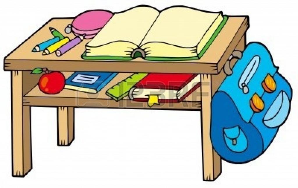 Bench clipart classroom. Desk school cliparts free