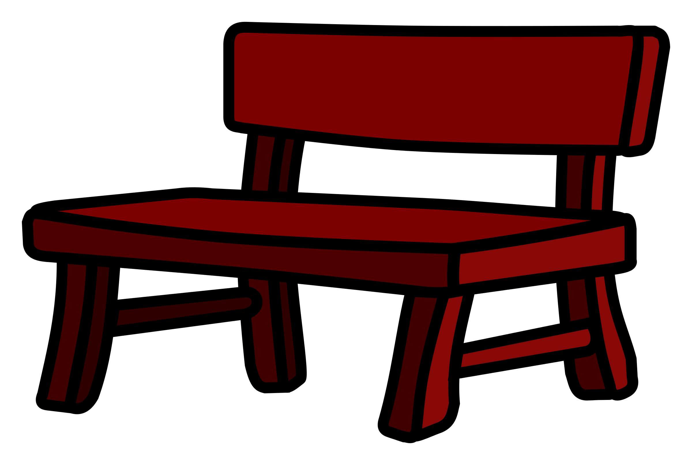 Bench coloured icons png. Furniture clipart empty library