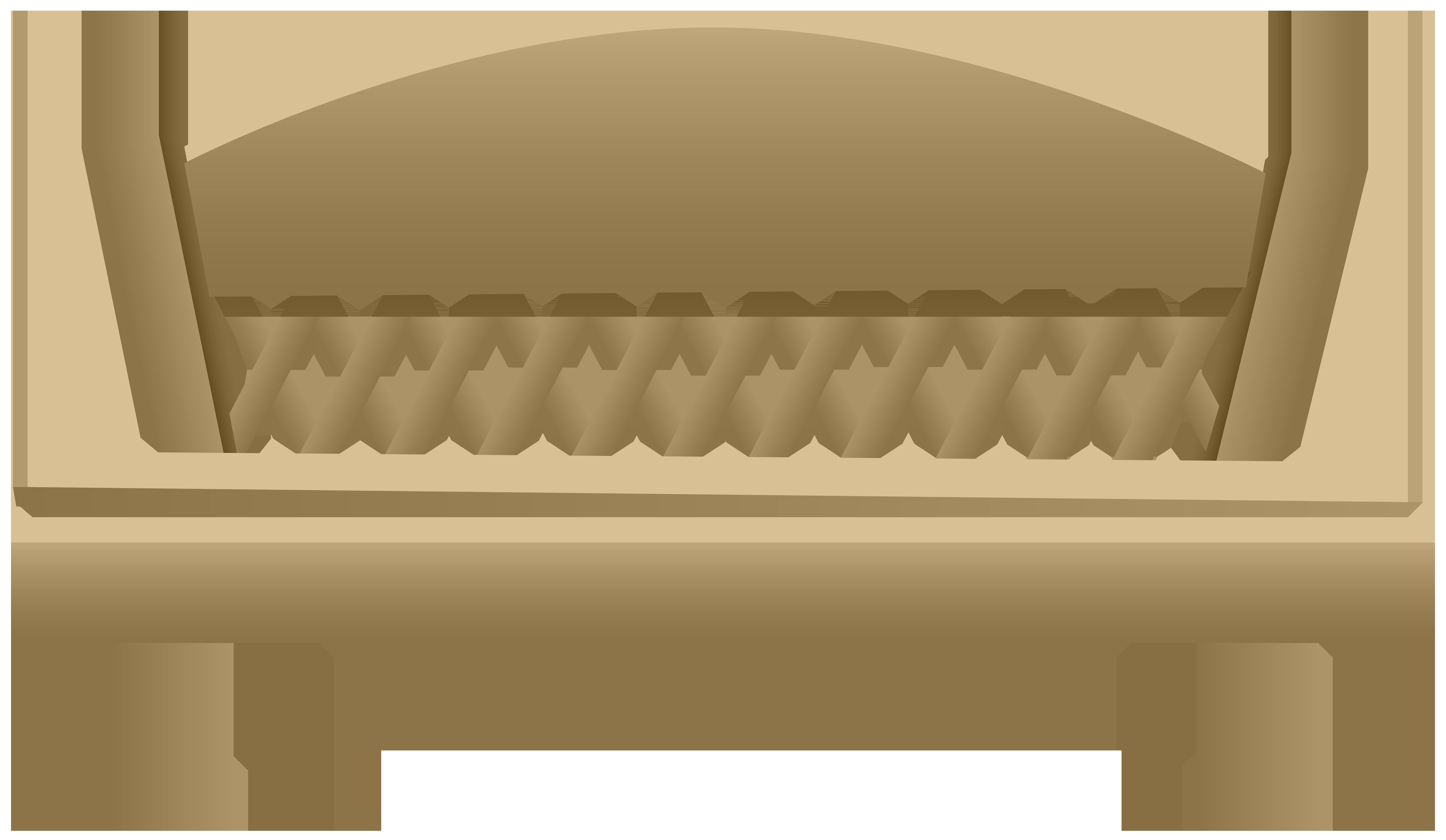 Bench clipart garden bench. Transparent png clip art