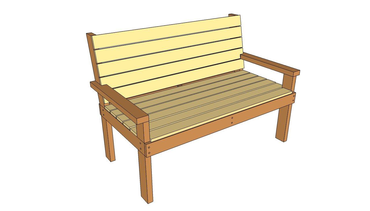 Park plans outdoor diy. Bench clipart garden bench