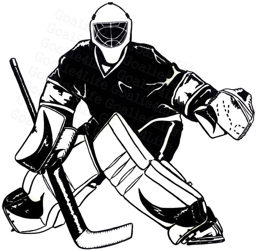 Hockey clipart hockey goalie. Free images recherche google