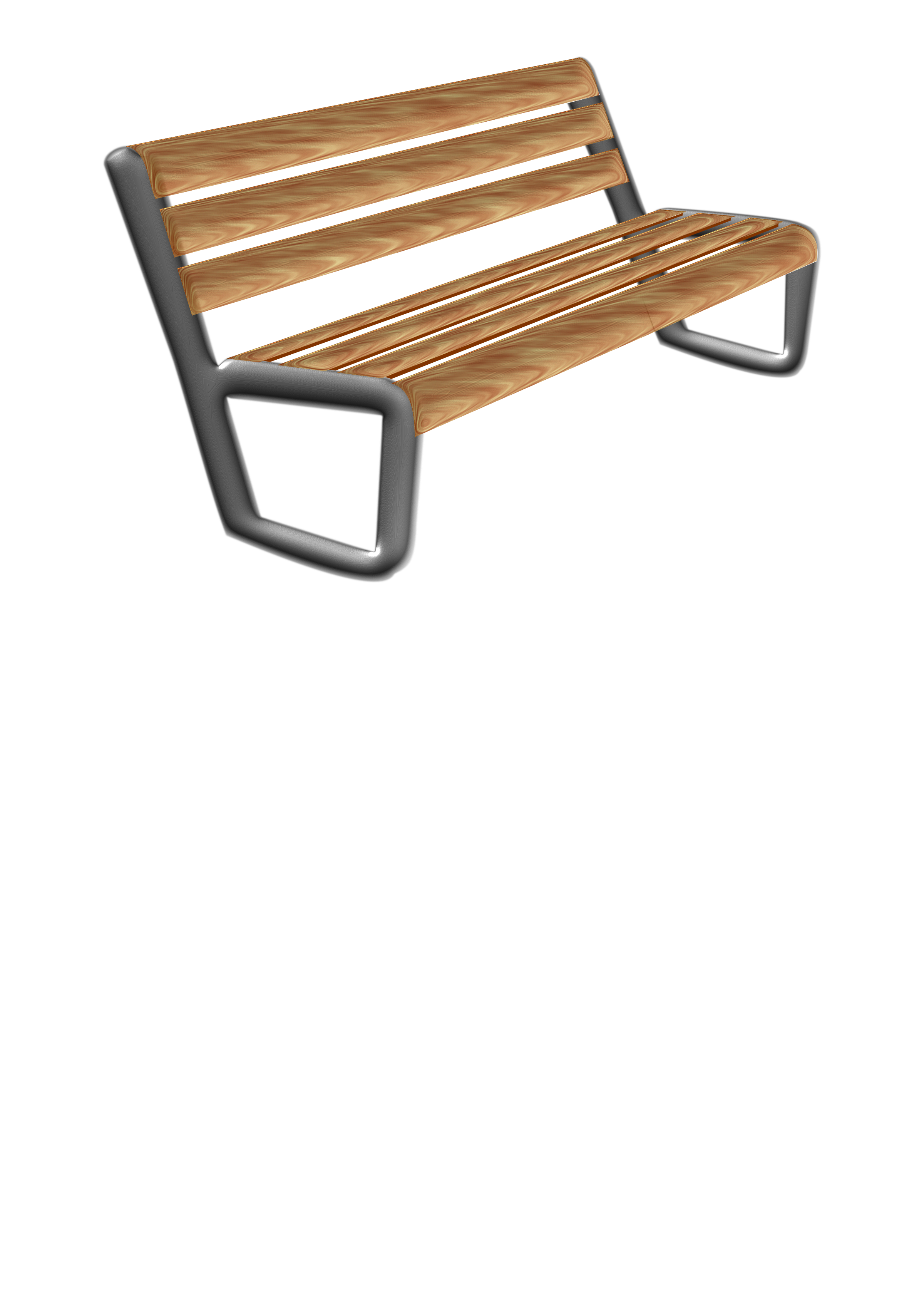 Bench clipart modern. Banco moderno big image