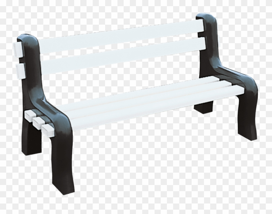 Png download . Bench clipart modern