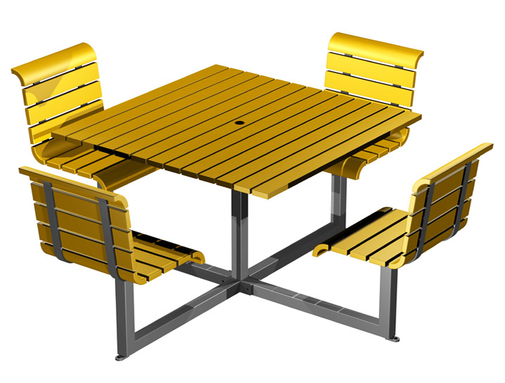Recycle design infinity patio. Bench clipart outdoor