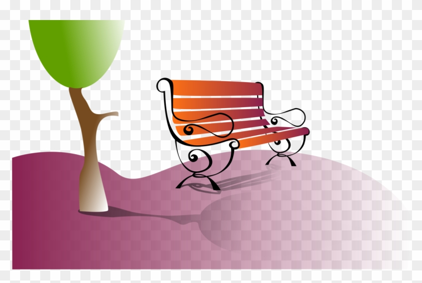 Bench clipart park tree. Computer icons bank diagram