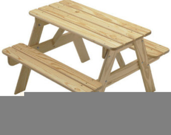 Bench clipart picnic. Free table images at