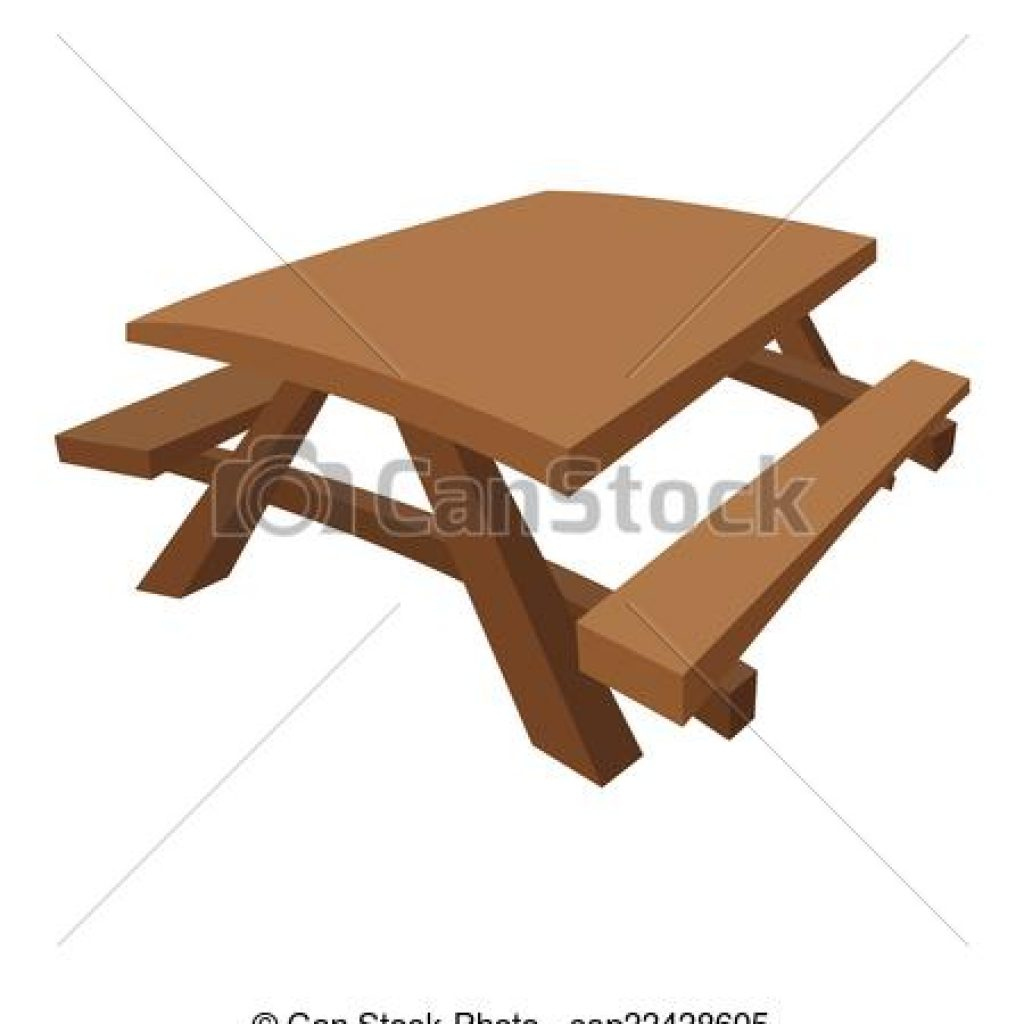 Bench clipart picnic. Table rainbow hatenylo com