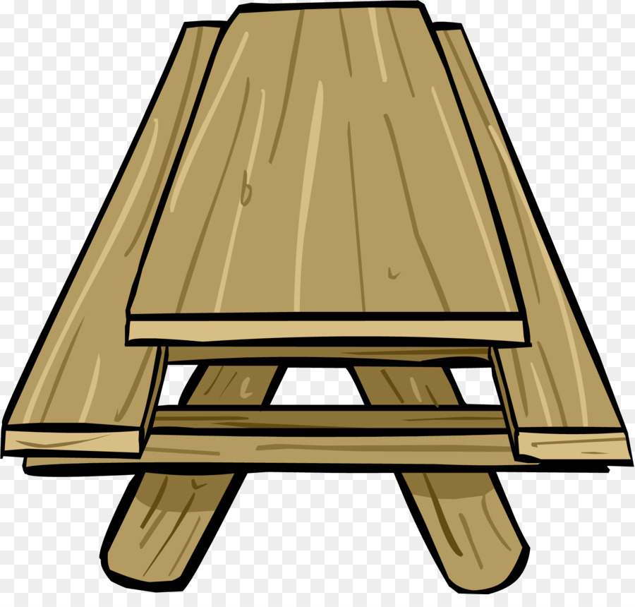 Bench clipart picnic. Club penguin table igloo