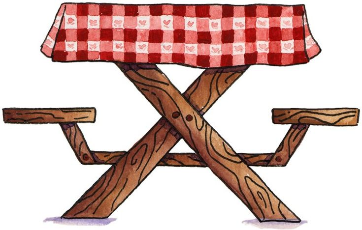 best camping outdoor. Bench clipart picnic