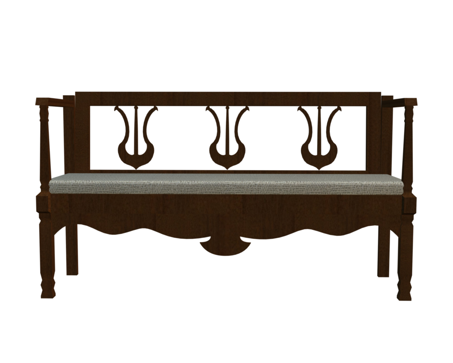 Bench clipart transparent. Front d png by