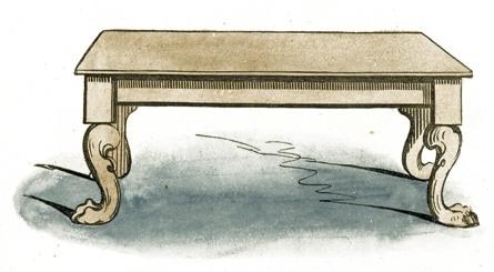 Clip art reusableart com. Clipart table old table