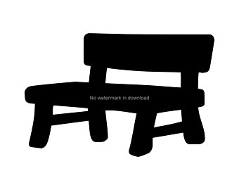 Bench clipart wood bench. Tool etsy