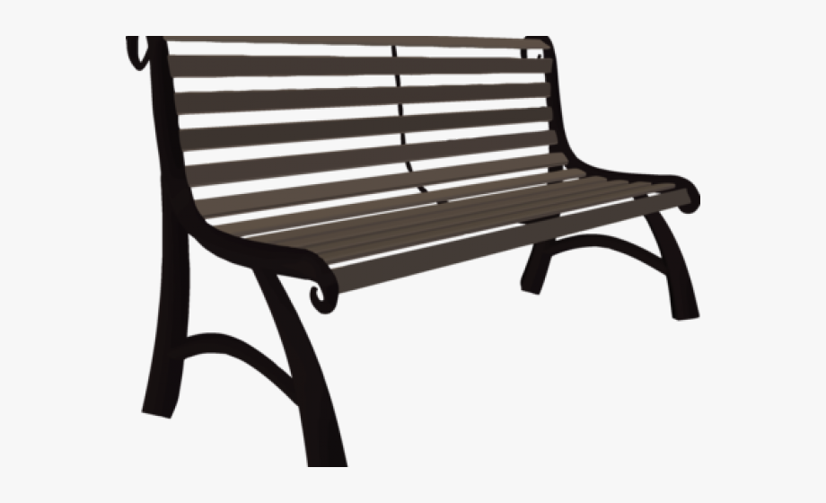 Bench clipart wood bench. Park drawing no background