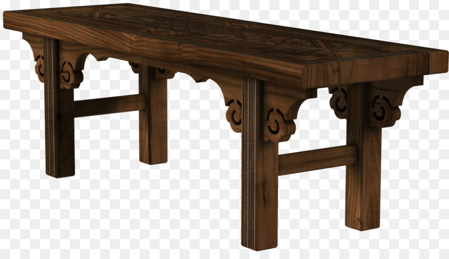 Wood table png download. Bench clipart wooden desk