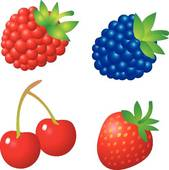 Free . Berries clipart
