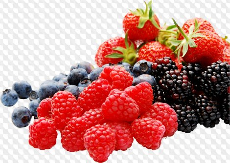 Berries clipart. Compositions with png resolution